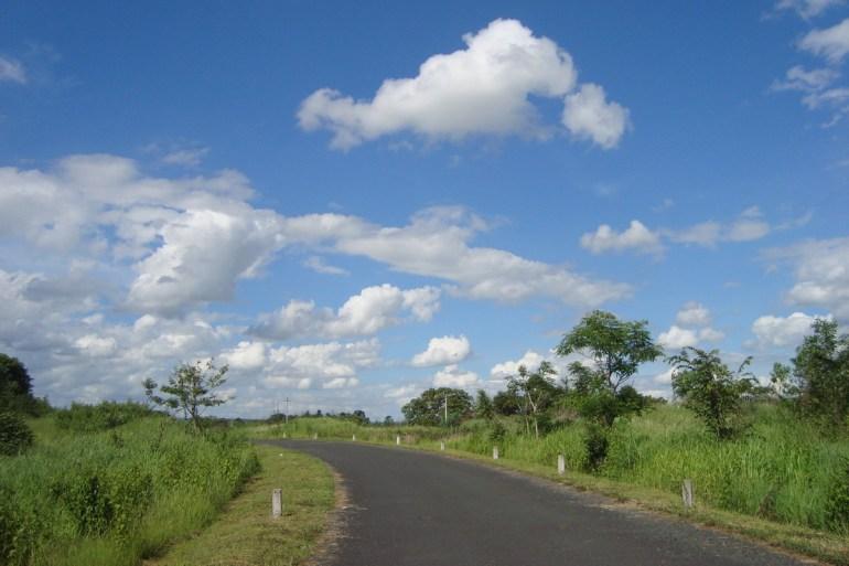 Đường qua Ea sô (Đắk lắk)