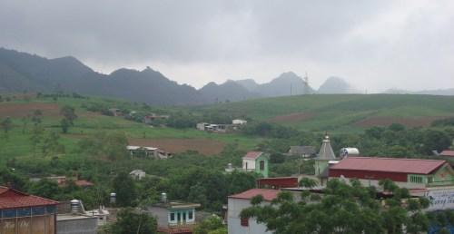 Một góc thị trấn Nông trường Mộc Châu