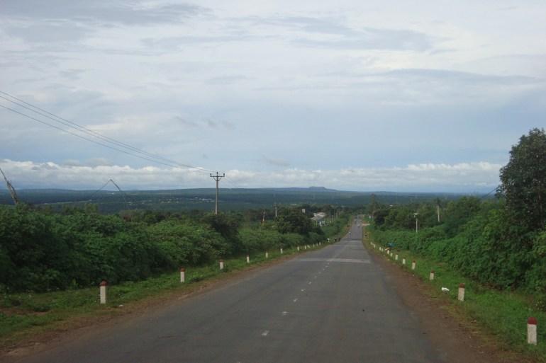 Đường qua Chư sê (Gia lai)