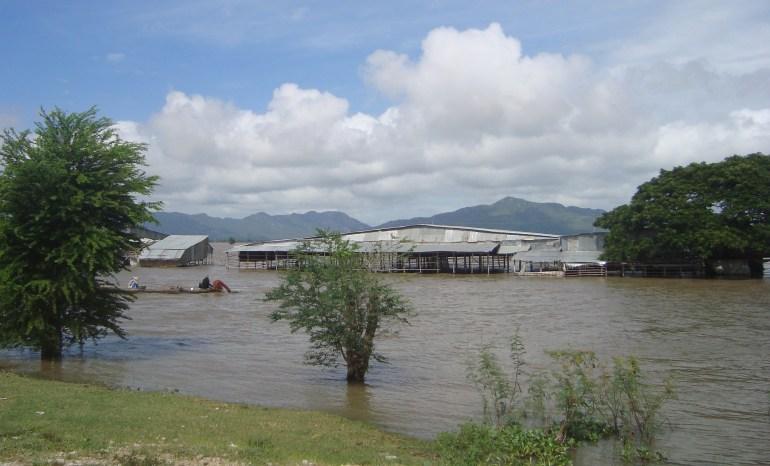 Chợ đường biên mùa nước nổi