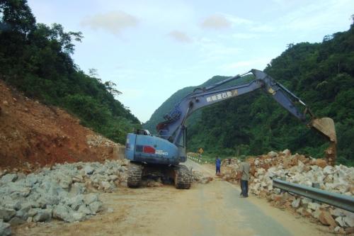 Sửa đường kiểu miền núi