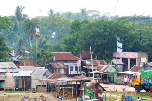 Cảnh làng quê vào mùa World Cup